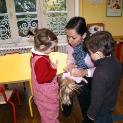 Laetitia en pré maternelle